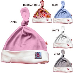 100-percent Organic Cotton Baby Knot Hat