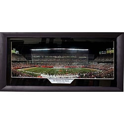Cleveland Browns 'The Browns Are Back' Medium Panoramic Frame