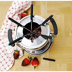 Stainless Steel 11-piece Fondue Set