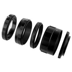 INSTEN Set of Macro Extension Tubes and Adapters for Nikon Digital Cameras