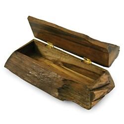 Enrico Large Driftwood Hinged Box (Thailand)