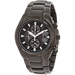 Citizen Men's Eco-Drive Titanium Chronograph Watch