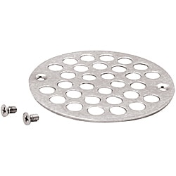 Belle Foret Chrome Shower Strainer with Screws