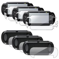 Full Body Screen Protector for Sony Playstation Vita (Pack of 3)