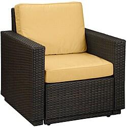 Riviera Harvest Yellow Arm Chair