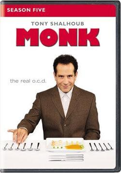 Monk: Season Five (DVD) 9081305