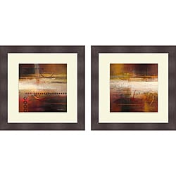 Michael Marcon 'Force Ten I & II' Framed Print