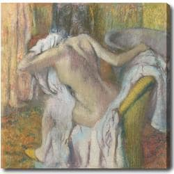 Edgar Degas 'After the Bath, Woman Drying Herself' Hand-painted Oil on Canvas 9084897