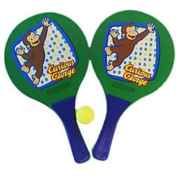 Curious George Paddle Ball Set