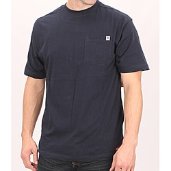 Farmall IH Men's Crew Neck Navy Cotton Pocket T-Shirt
