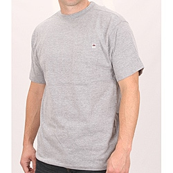 Farmall IH Men's Heather Grey Cotton Pocket T-shirt