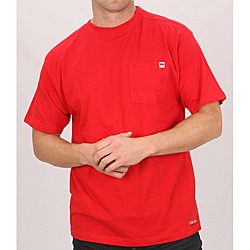 Farmall IH Men's Red Cotton Short Sleeve Pocket T-shirt