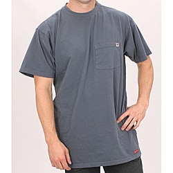 Farmall IH Men's Navy Cotton Pocket T-shirt