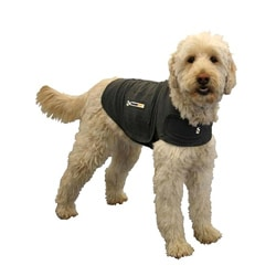 "Thundershirt Medium 18"" to 26"" Cotton Pet Calming Shirt (Charcoal Gray)"