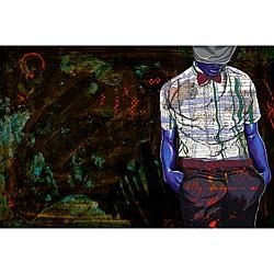 Maxwell Dickson 'The Gentleman' Modern Canvas Print
