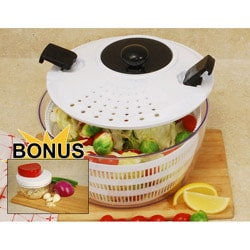 Salad Spinner 4.5-quart Capacity with Bonus Mini Twist Chopper