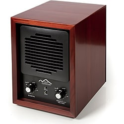 Cherry Wood 6-stage Air Purifier with HEPA UV Ozone Ionic 9105963