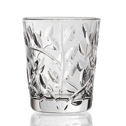 Laurus Collection by RCR Italy 6-pieceShot Glass Set