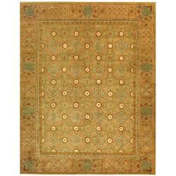 Safavieh Handmade Classic Antiquity Coral Wool Rug (7'6 x 9'6)