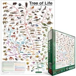 Jigsaw Puzzle 1000 Pieces -Evolution - The Tree Of Life
