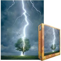 Eurographics Jigsaw Puzzle 1000 Pieces - Lightning Striking Tree