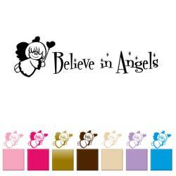 Vinyl 'Believe in Angels' Wall Decal