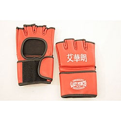 Defender Red Small MMA UFC Style Training Gloves