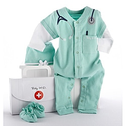 Baby Aspen Big Dreamzzz Baby M.D. 3-piece Layette Set