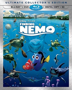 Finding Nemo - Ultimate Collector's Edition (Blu-ray 3D / Blu-ray / DVD) 9126012