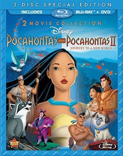 Pocahontas & Pocahontas II: Journey To A New World (Special Edition) (Blu-ray Disc) 9126041