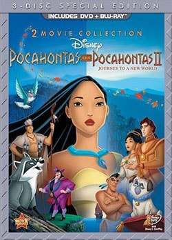 Pocahontas & Pocahontas II: Journey To A New World (Special Edition) (Blu-ray/DVD) 9126043