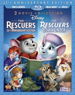 The Rescuers & Rescuers Down Under (35 Anniversary Edition) (Blu-ray/DVD) 9126055