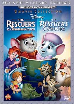 The Rescuers & Rescuers Down Under (35 Anniversary Edition) (Blu-ray/DVD) 9126056