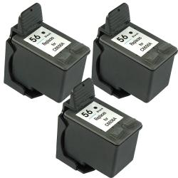 Hewlett Packard HP 56 Black Ink Cartridge (Pack of 3) (Remanufactured)