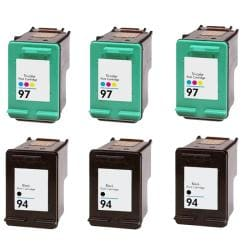 Hewlett Packard 94/97 Black /Color Ink Cartridge (Remanufactured)