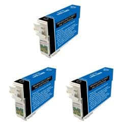 Epson T124100 T124 Black Ink Cartridges (Pack of 3) (Remanufactured)