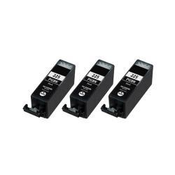 Canon PGI-225BK Compatible Black Ink Cartridge (3 Pack)