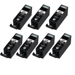 Canon PGI-225BK Compatible Black Ink Cartridge (7 Pack)