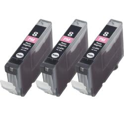 Canon CLI8-PM CLI 8 Compatible Magenta Ink Cartridge (Pack of 3)
