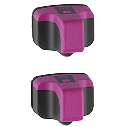 Hewlett Packard HP02 Magenta Ink Cartridge (Pack of 2) (Remanufactured)