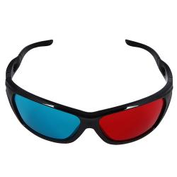 INSTEN Red/ Blue 3D Glasses with Frame 9129288