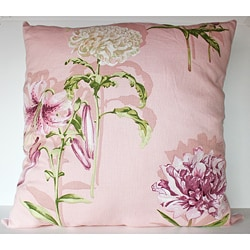 Secret Garden Pink 26x26-inch Decorative Pillow