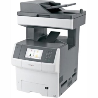 Lexmark X740 X746DE Laser Multifunction Printer - Color - Plain Paper