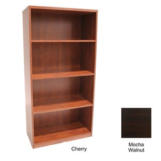 Regency Seating 60-inch Four-shelf Melamine-laminate Bookcase