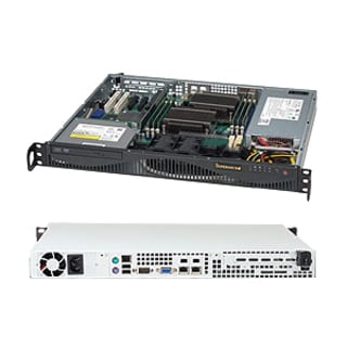 Supermicro SuperChassis SC512F-350B Rackmount Enclosure