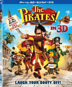 The Pirates! Band of Misfits 3D (Blu-ray/DVD) 9154414