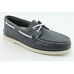 Sperry Top Sider Men's A/O 2-eye Blue, Navy Blue Casual Shoes