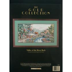 "Gold Collection Valley Of The River Beck Counted Cross Stitc-20""X10"""