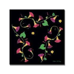 Kathie McCurdy, 'Morning Glories' Canvas Art