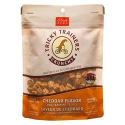 Cloudstar Dog Tricky Trainer Crunch Cheddar 8 ounces